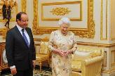 La reine Elizabeth reçoit François Hollande