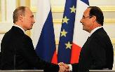 Hollande et Poutine en désaccord