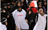 Bahraini Women Join Protest