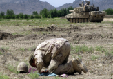 Prayer Before Combat in Afghanistan