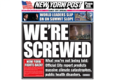 Fake New York Post in Honor of Climate Summit