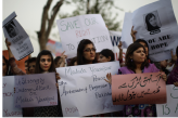 Protest against Shooting of Malala Yousufzai's