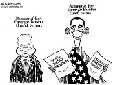 Bush 3 vs. Bush 1