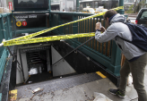 Sandy Storms Floods New York City Subways