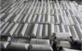 Coffins Shipped for Philippine Storm Victims
